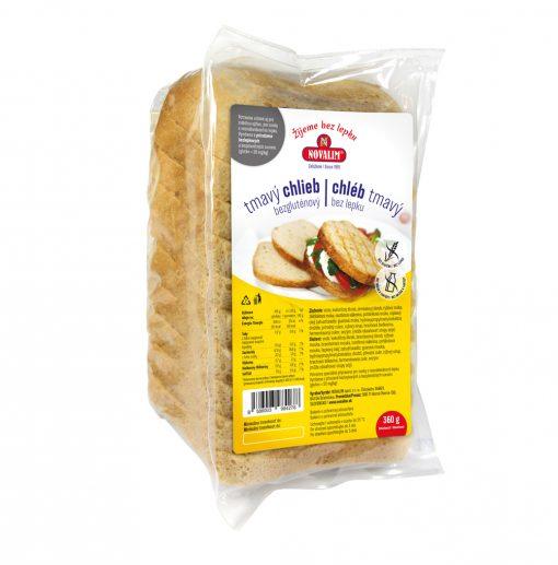 NOVALIM Chlieb bezgluténový tmavý